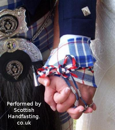 Wedding Bann made from 