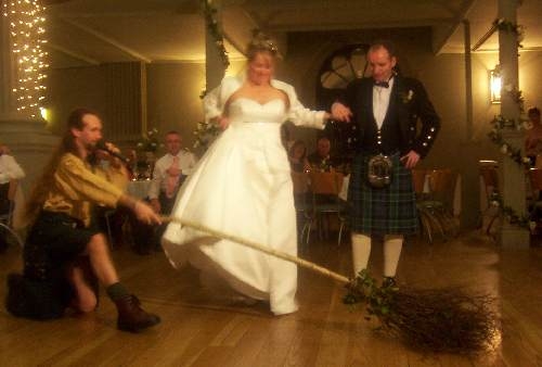Scot AnSgeulaiche, Master of Wedding Ceremonies in the Celtic / 